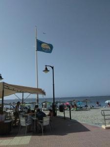Bandera Azul en LoPagan