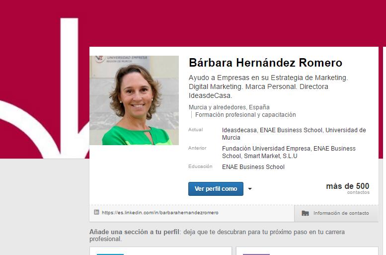 Barbara Hernandez LinkedIn