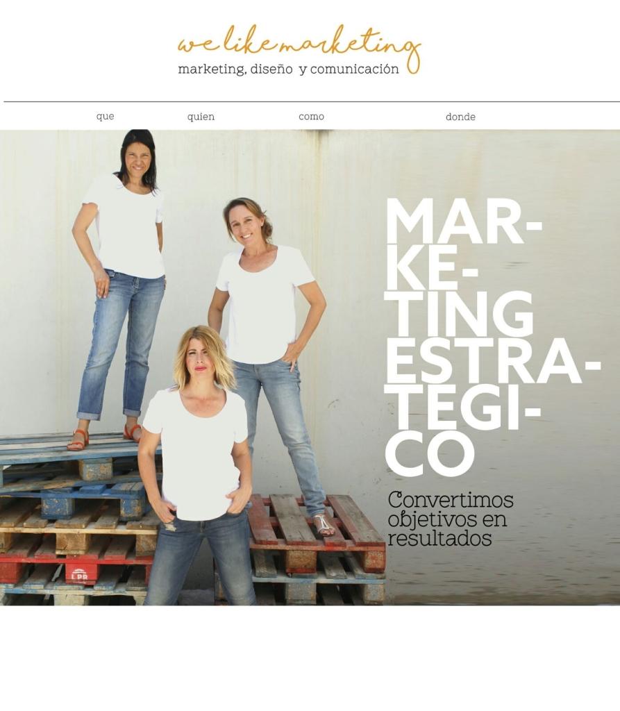 we like marketing. Agencia de Marketing