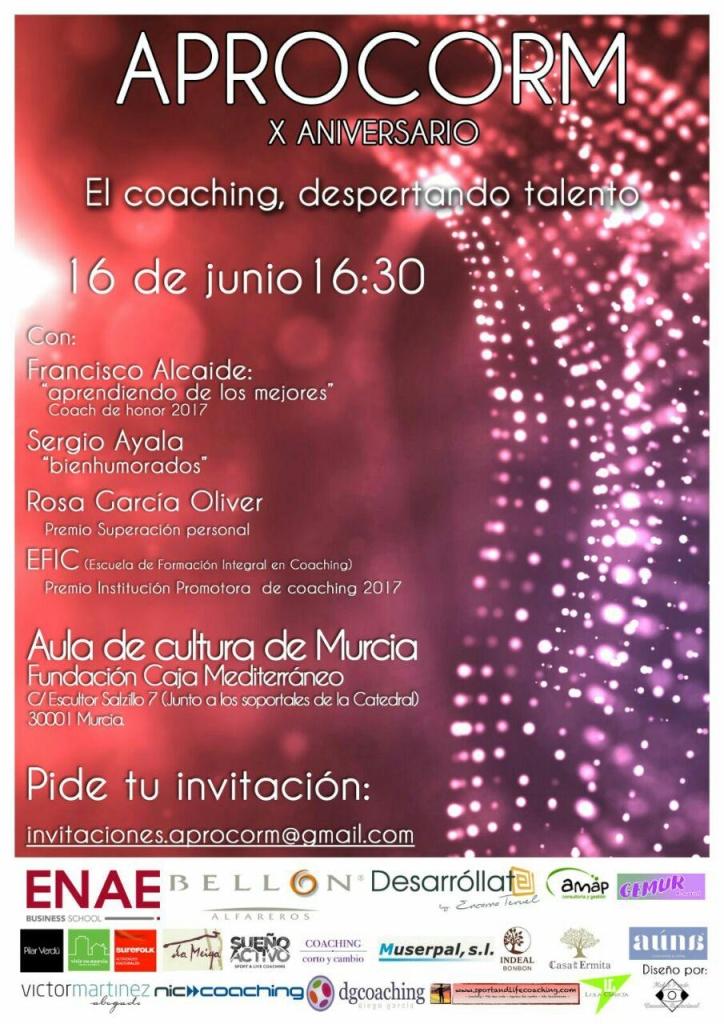 X Gala del Coaching APROCORM