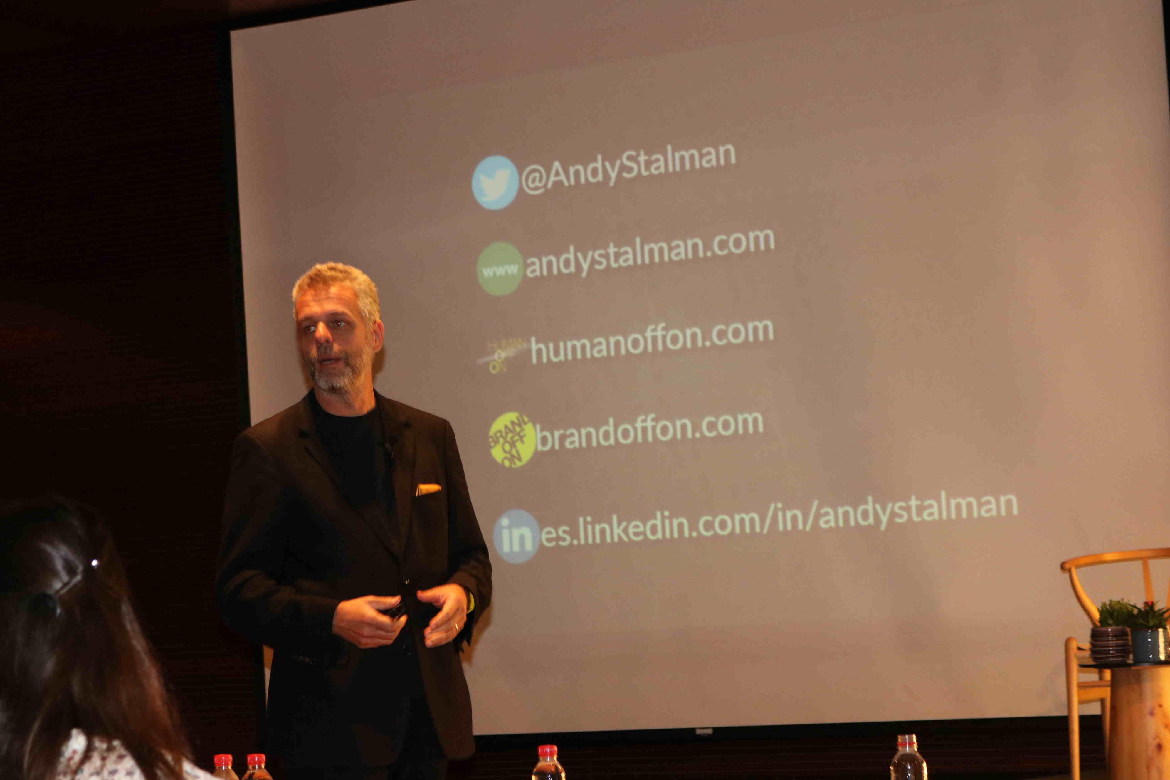 Andy Stalman en MShF. BrandOffOn
