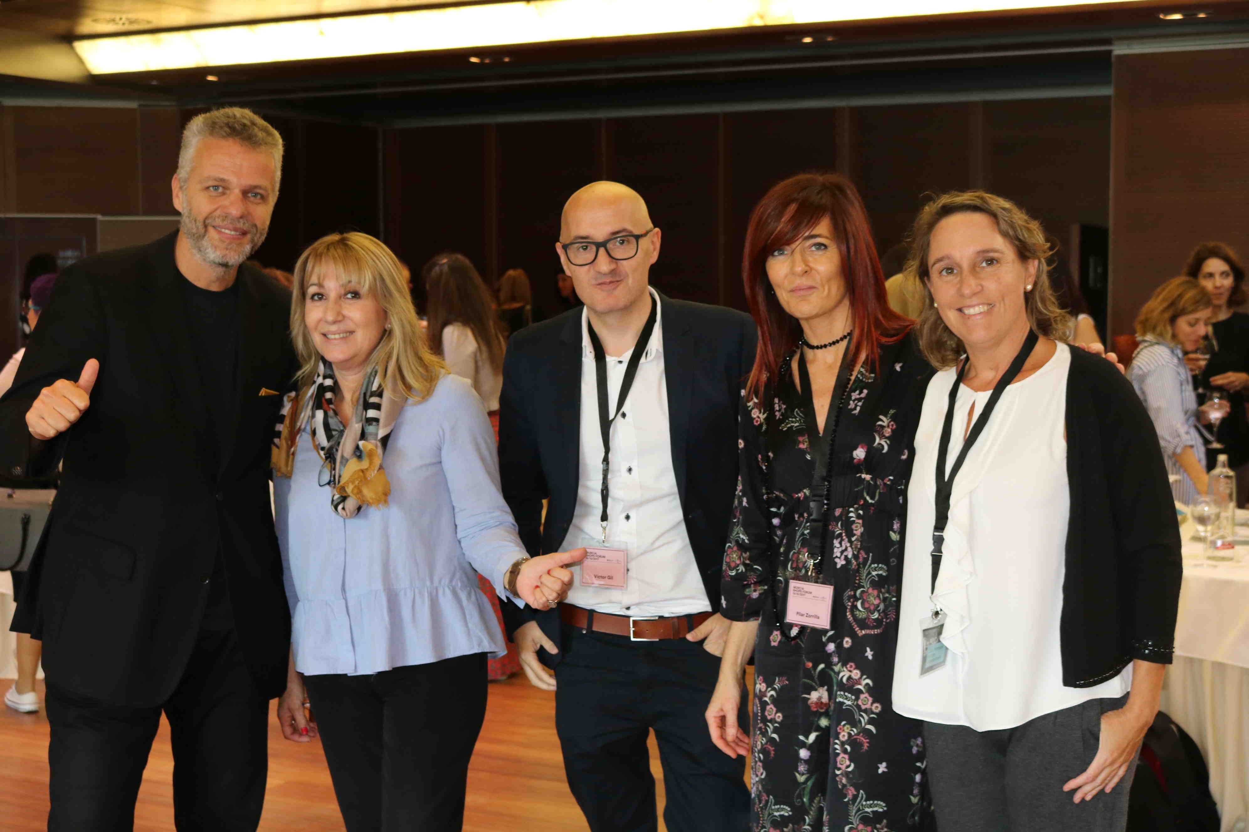 Barbara Hernandez con ponentes MShF. Pilar Zorrilla. Andy Stalman