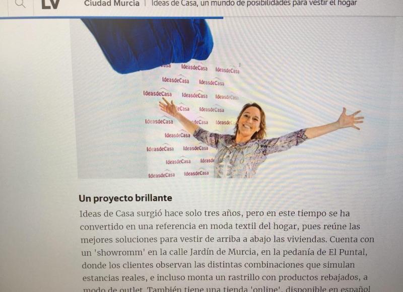 El periodico La Verdad entrevista a Barbara Hernandez