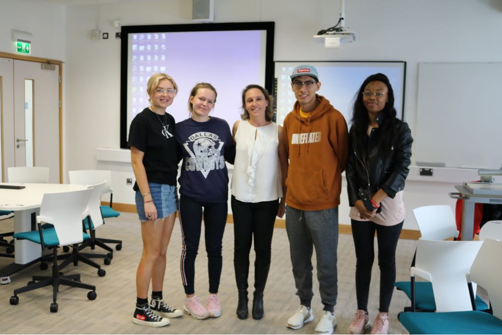 Impartir clases en Cambriedge