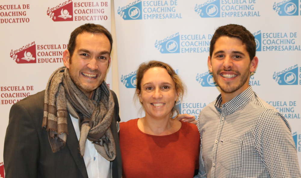 Pablo Candela, Barbara Hernandez y Pablo Tomas. Aprocorm