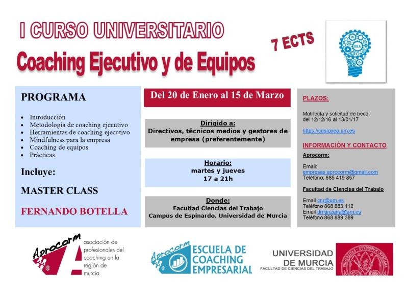 I Curso Universitario Coaching Ejecutivo