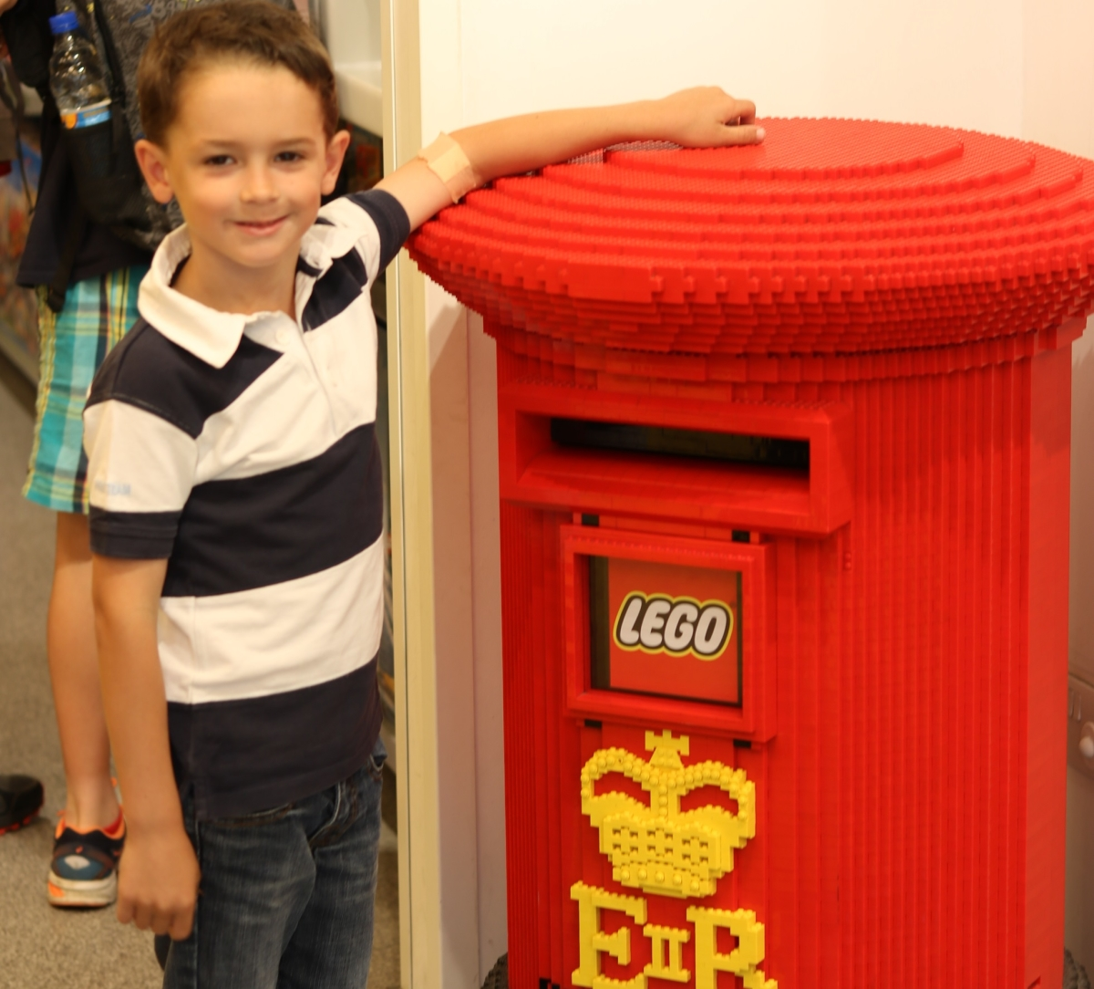 Post Office Lego. barbarahernandez.es